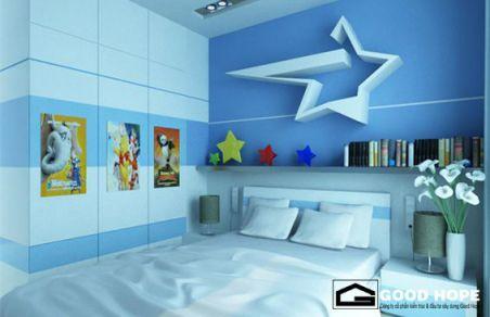 Phòng ngủ cho bé trai - Thiết kế 1