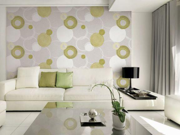 Mẫu giấy gian tường phòng khách đẹp - Thiết kế 7