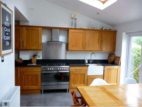 Mẫu nhà bếp đẹp hiện đại m2