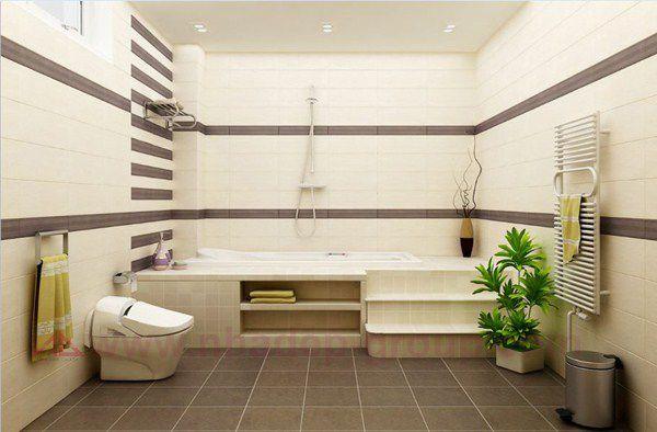 Mẫu phòng tắm hiện đại nhất 24h - Thiết kế mẫu 4