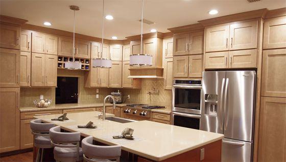 Mẫu nhà bếp đẹp hiện đại m3
