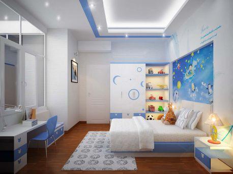 Phòng ngủ cho bé trai - Thiết kế 2