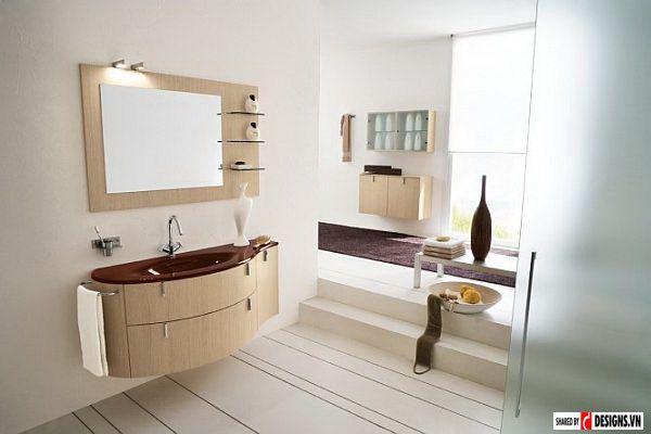 Phòng tắm đẹp hiện đại có ở Việt nam mẫu thiết kế 5