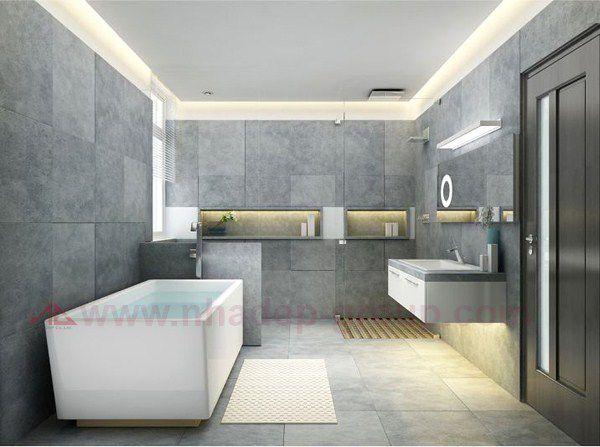 Phòng tắm đẹp hiện đại có ở Việt nam mẫu thiết kế 7