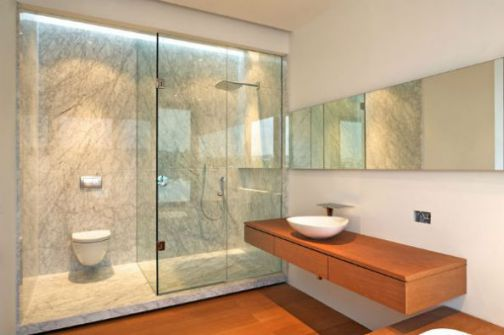 Mẫu phòng tắm đẹp hiện đại H3