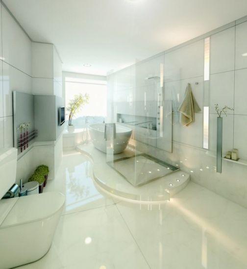 Mẫu phòng tắm đẹp hiện đại H2