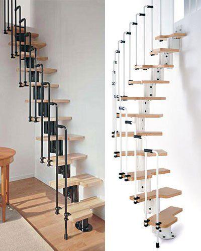 Mẫu cầu thang tiết kiệm diện tích cho gia đình - Thiết kế 7