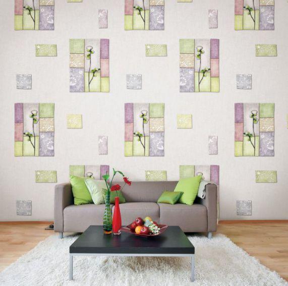 Mẫu giấy gian tường phòng khách đẹp - Thiết kế 8