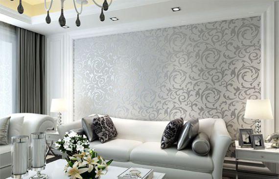 Mẫu giấy gian tường phòng khách đẹp - Thiết kế 9