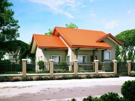 Kiến trúc nhà cấp 4 đẹp với kiểu dáng nhỏ xinh -> Mẫu 2