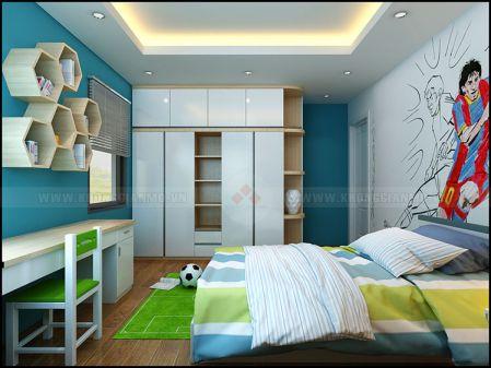 Phòng ngủ cho bé trai - Thiết kế 3