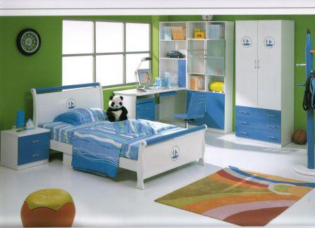 Phòng ngủ cho bé trai - Thiết kế 4