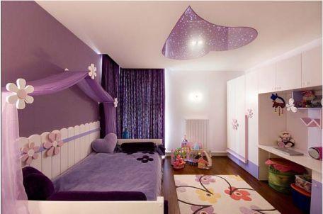 Mẫu phòng ngủ màu hồng sang trọng hiện đại H1