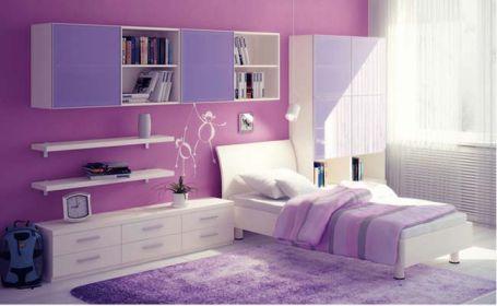 Mẫu phòng ngủ màu hồng sang trọng hiện đại H2