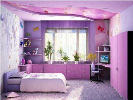 Mẫu phòng ngủ màu hồng sang trọng hiện đại H3