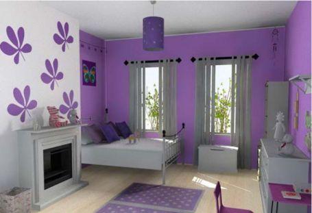 Mẫu phòng ngủ màu hồng sang trọng hiện đại H5