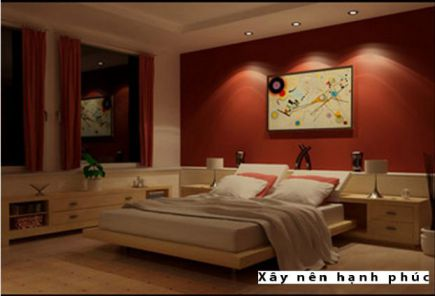 Phòng ngủ đẹp với gam màu rực rỡ H3