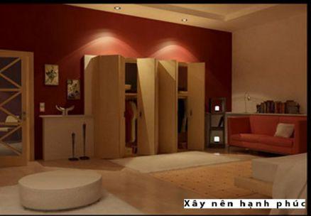 Phòng ngủ đẹp với gam màu rực rỡ H4
