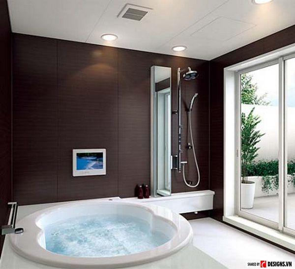 Mẫu phòng tắm hiện đại nhất 24h - Thiết kế mẫu 8