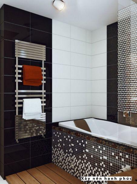 mẫu phòng tắm cho không gian nhỏ thiết kế 9