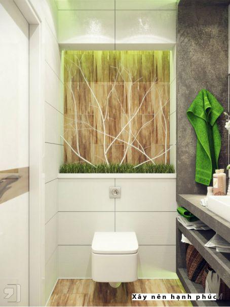 mẫu phòng tắm cho không gian nhỏ thiết kế 2