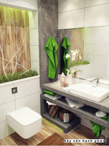 mẫu phòng tắm cho không gian nhỏ thiết kế 3