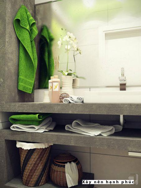 mẫu phòng tắm cho không gian nhỏ thiết kế 4