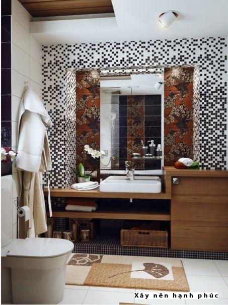 mẫu phòng tắm cho không gian nhỏ thiết kế 6