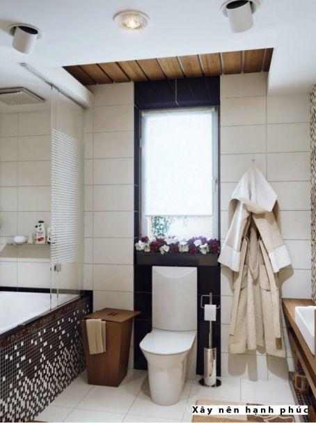 mẫu phòng tắm cho không gian nhỏ thiết kế 8