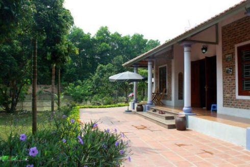 Mẫu nhà vườn đẹp hiện đại nhất - thiết kế 5