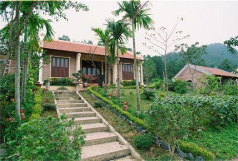 Mẫu nhà vườn đẹp hiện đại nhất - thiết kế 6