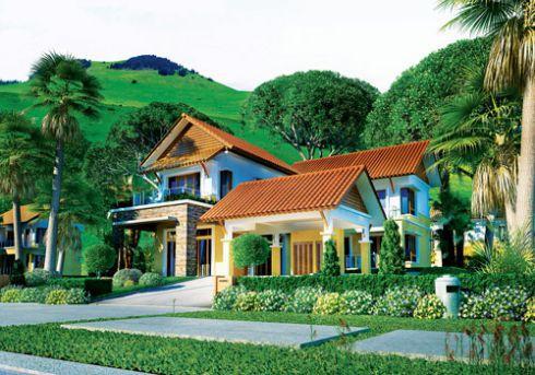 Mẫu nhà vườn đẹp hiện đại nhất - thiết kế 7