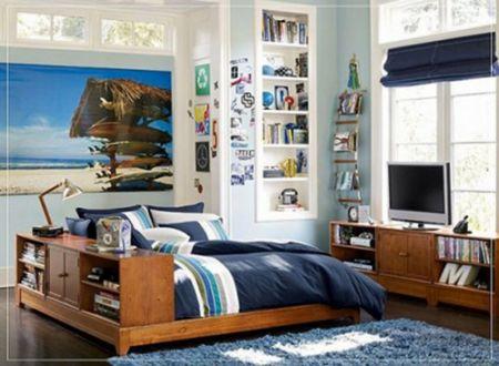 Phòng ngủ cho bé trai - Thiết kế 6