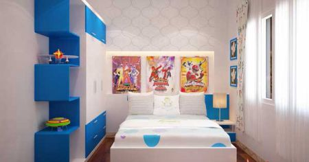Phòng ngủ cho bé trai - Thiết kế 7