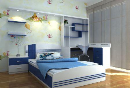 Phòng ngủ cho bé trai - Thiết kế 9