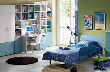 Phòng ngủ cho bé trai - Thiết kế 10