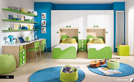 Phòng ngủ cho bé trai - Thiết kế 12