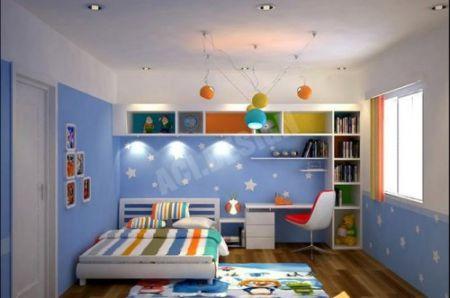 Phòng ngủ cho bé trai - Thiết kế 13