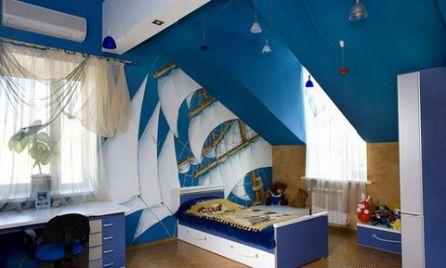 Phòng ngủ cho bé trai - Thiết kế 14
