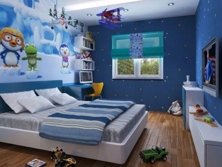 Phòng ngủ cho bé trai - Thiết kế 11