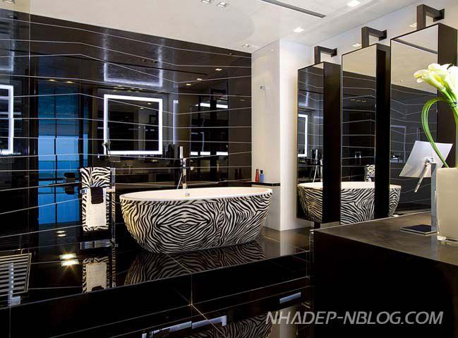 Phòng tắm đẹp hiện đại có ở Việt nam mẫu thiết kế 10