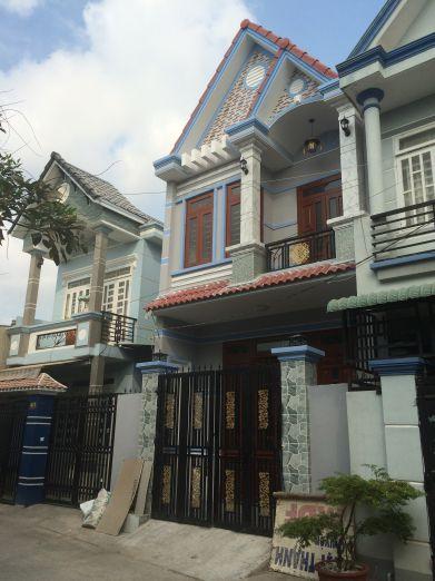 Tổng thể căn nhà đang bán.