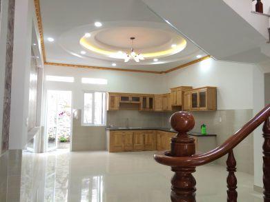 Không gian nhà bếp rộng rãi.