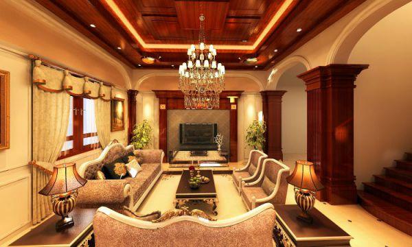 Thiết kế phòng khách sang trọng hiện đại Thiết kế 3