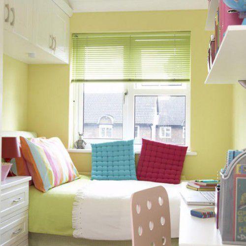 Mẫu nội thất phong ngủ hẹp đẹp - Thiết kế 1