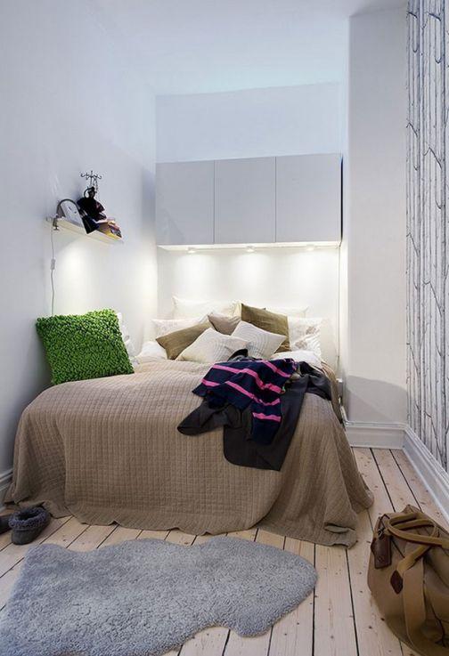 Mẫu nội thất phong ngủ hẹp đẹp - Thiết kế 2