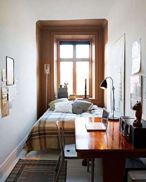 Mẫu nội thất phong ngủ hẹp đẹp - Thiết kế 3