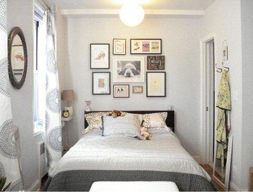 Mẫu nội thất phong ngủ hẹp đẹp - Thiết kế 4