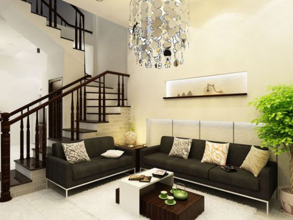 Thiết kế phòng khách sang trọng hiện đại Thiết kế 11