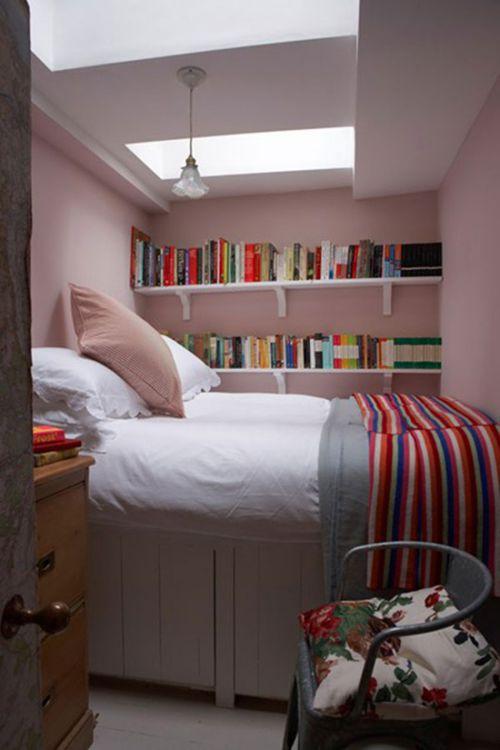 Mẫu nội thất phong ngủ hẹp đẹp - Thiết kế 6